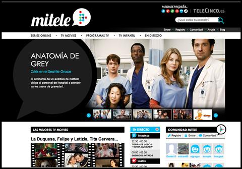 Mitele.es - Spaanse televisie